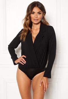 VERO MODA Freya L/S Shirt Body Black Bubbleroom.eu