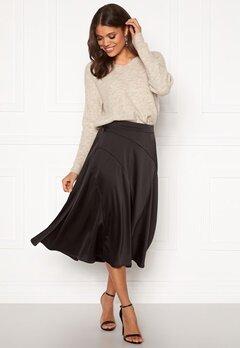 VERO MODA Gabbi Calf Skirt Black Bubbleroom.eu