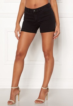 VERO MODA Hot Seven Fold Shorts Black Bubbleroom.eu