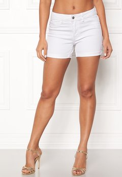 VERO MODA Hot Seven Fold Shorts Bright White Bubbleroom.eu