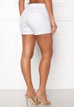VERO MODA Hot Seven Fold Shorts Bright White Bubbleroom.eu