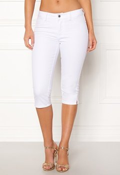 VERO MODA Hot Seven Slit Knickers Bright White Bubbleroom.eu