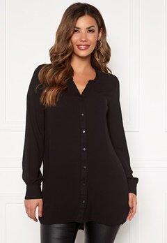 VERO MODA Isabella ls Shirt Black Bubbleroom.eu