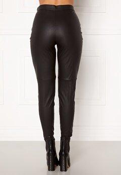 VERO MODA Janni HW PU Legging Black Bubbleroom.eu