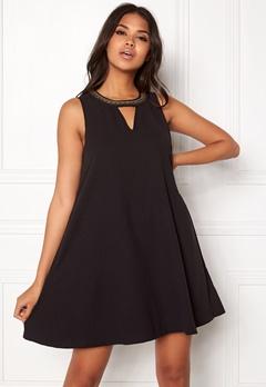 VERO MODA June Bead SL Short Dress Black Bubbleroom.eu
