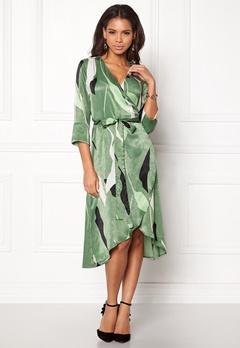 VERO MODA Laksmi 3/4 Calf Dress Dark Ivy Bubbleroom.eu