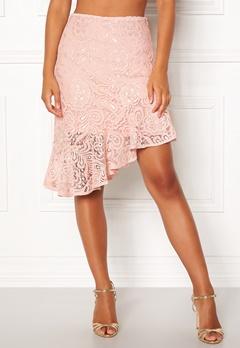 VERO MODA Lizz HW BLK Skirt Sepia Rose Bubbleroom.eu
