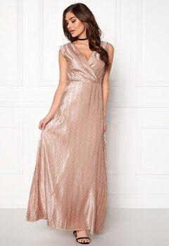 VERO MODA Lizzie Wrap Maxi Dress Rose Dust Bubbleroom.eu