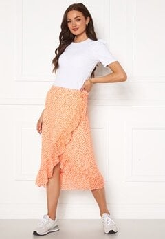VERO MODA Loula H/W Wrap Skirt Chintz Rose Bubbleroom.eu