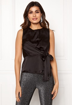 VERO MODA Lush SL Top Black Bubbleroom.eu
