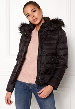 VERO MODA Marga Short Down Jacket Black Beauty Bubbleroom.eu