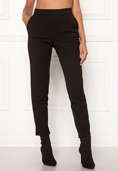VERO MODA Maya MR Loose Solid Pant Black Bubbleroom.eu