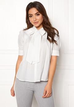 VERO MODA Nicole 2/4 Tie Shirt Snow White Bubbleroom.eu