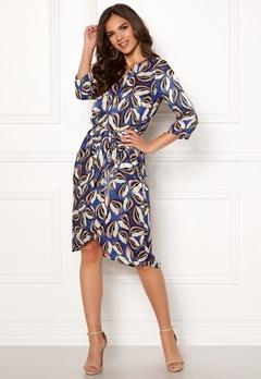 VERO MODA Raja 3/4 Dress Mazarine Blue Bubbleroom.eu