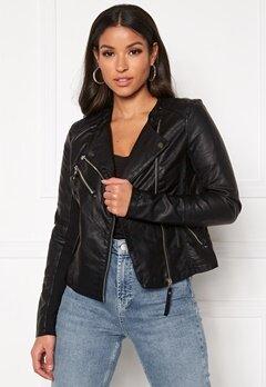 VERO MODA Riafavo Coated Jacket Black Bubbleroom.eu