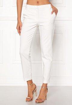 VERO MODA Roro White Ancle Pants Snow White Bubbleroom.eu