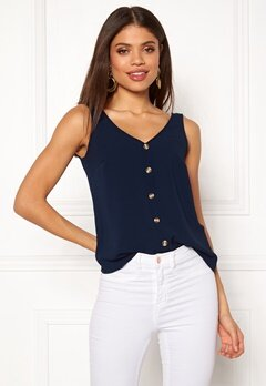 VERO MODA Sasha S/L Button Top Navy Blazer Bubbleroom.eu