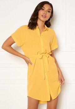 VERO MODA Sasha SS Shirt Dress Banana Cream Bubbleroom.eu