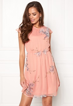 VERO MODA Satina Cap Dress Misty Rose Bubbleroom.eu