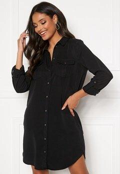 VERO MODA Silla LS Short Dress Black Bubbleroom.eu
