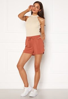 VERO MODA Simply Easy Nw Shorts Wvn Ga Marsala Bubbleroom.eu