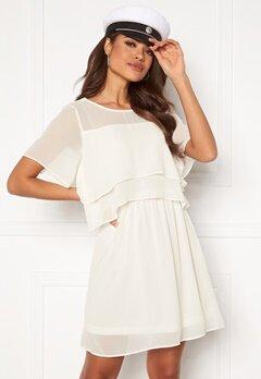 VERO MODA Vida SS Short Dress Snow White Bubbleroom.eu