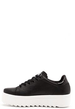 Victoria Victoria Leather Sneaker High Negro Bubbleroom.eu