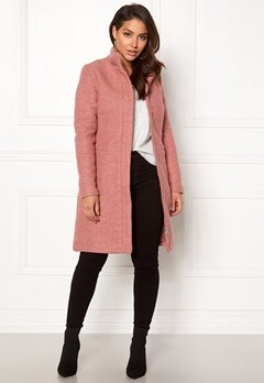 VILA Alanis Coat Ash Rose Bubbleroom.eu