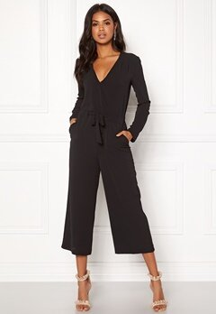 VILA Alinea New Jumpsuit Black Bubbleroom.eu