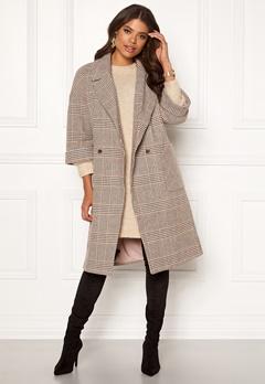 VILA Amoro Wool Sleeve Coat Puce Bubbleroom.eu