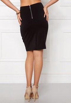 VILA Asmin Skirt Black Bubbleroom.eu