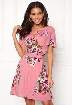 VILA Birdo S/S Dress Bridal Rose Bubbleroom.eu