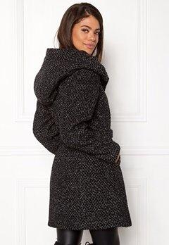 VILA Cama New Wool Coat Black Detail Bubbleroom.eu
