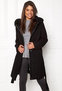 VILA Cama New Wool Coat Black Bubbleroom.eu