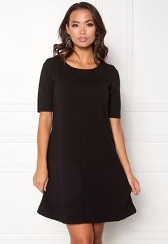VILA Caro A-Shape Jersey Dress Black Bubbleroom.eu