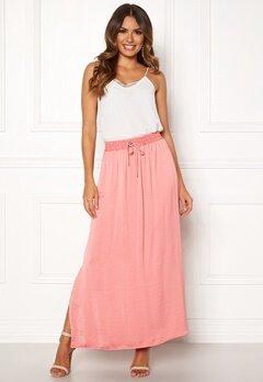 VILA Cava Maxi Skirt Brandied Apricot Bubbleroom.eu