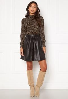 VILA Choosy HW Skirt Black Bubbleroom.eu