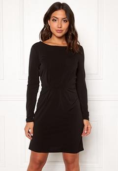 VILA Classy L/S Detail Dress Black Bubbleroom.eu