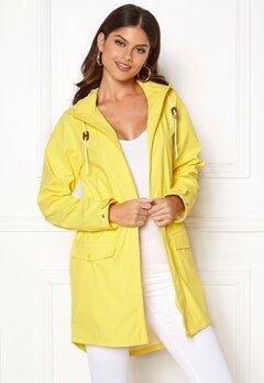 VILA Cloud Rain Jacket Lemon Zest Bubbleroom.eu