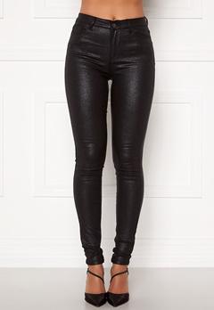 VILA Commit Glitter Coat Jeans Black Bubbleroom.eu