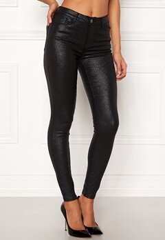 VILA Commit RW Glitter Jeans Black Bubbleroom.eu