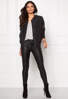 VILA Concrete new jacket Black Bubbleroom.eu