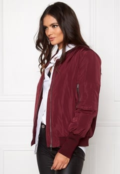 VILA Concrete new jacket Tawny Port Bubbleroom.eu