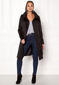 VILA Dahlia Wool Coat Black Bubbleroom.eu