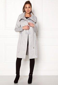 VILA Dahlia Wool Coat Light Grey Melange Bubbleroom.eu