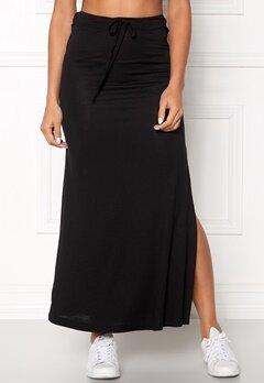 VILA Deana Maxi Skirt Black Bubbleroom.eu