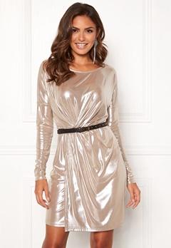 VILA Disco S/L Dress Morganite Bubbleroom.eu