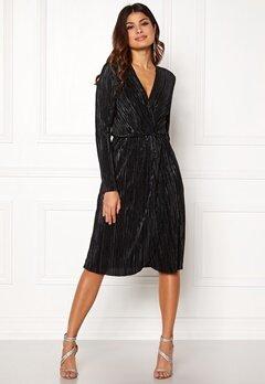 VILA Frances New Knot Dress Black Bubbleroom.eu