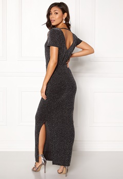 VILA Glitsay Dress Black/Silver Bubbleroom.eu