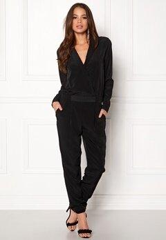VILA Holly L/S 7/8 Jumpsuit Black Bubbleroom.eu